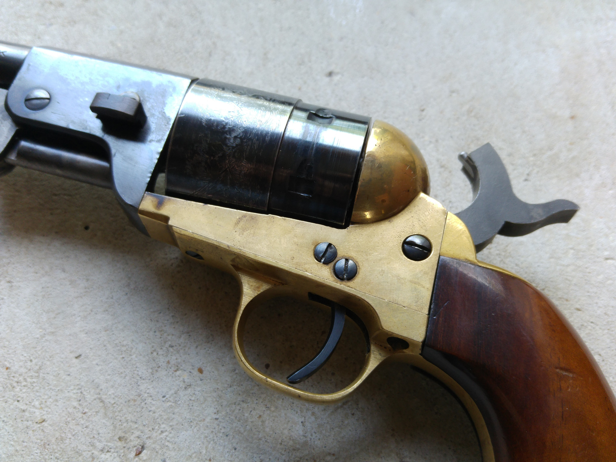 Pietta Underslot Venting 1851 Navy Sheriff 9mm
