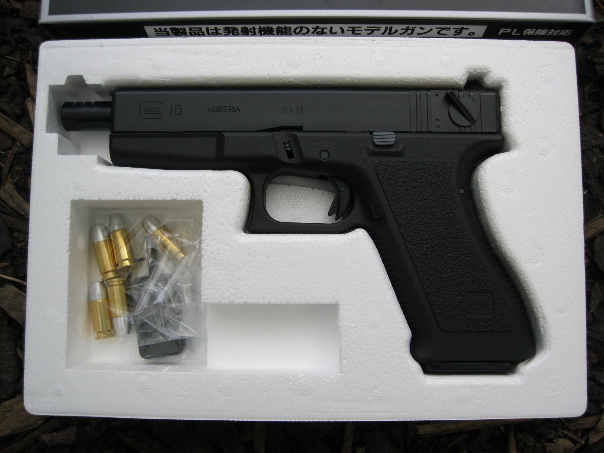 Tanaka Semi-Full Auto 9mm Glock 18