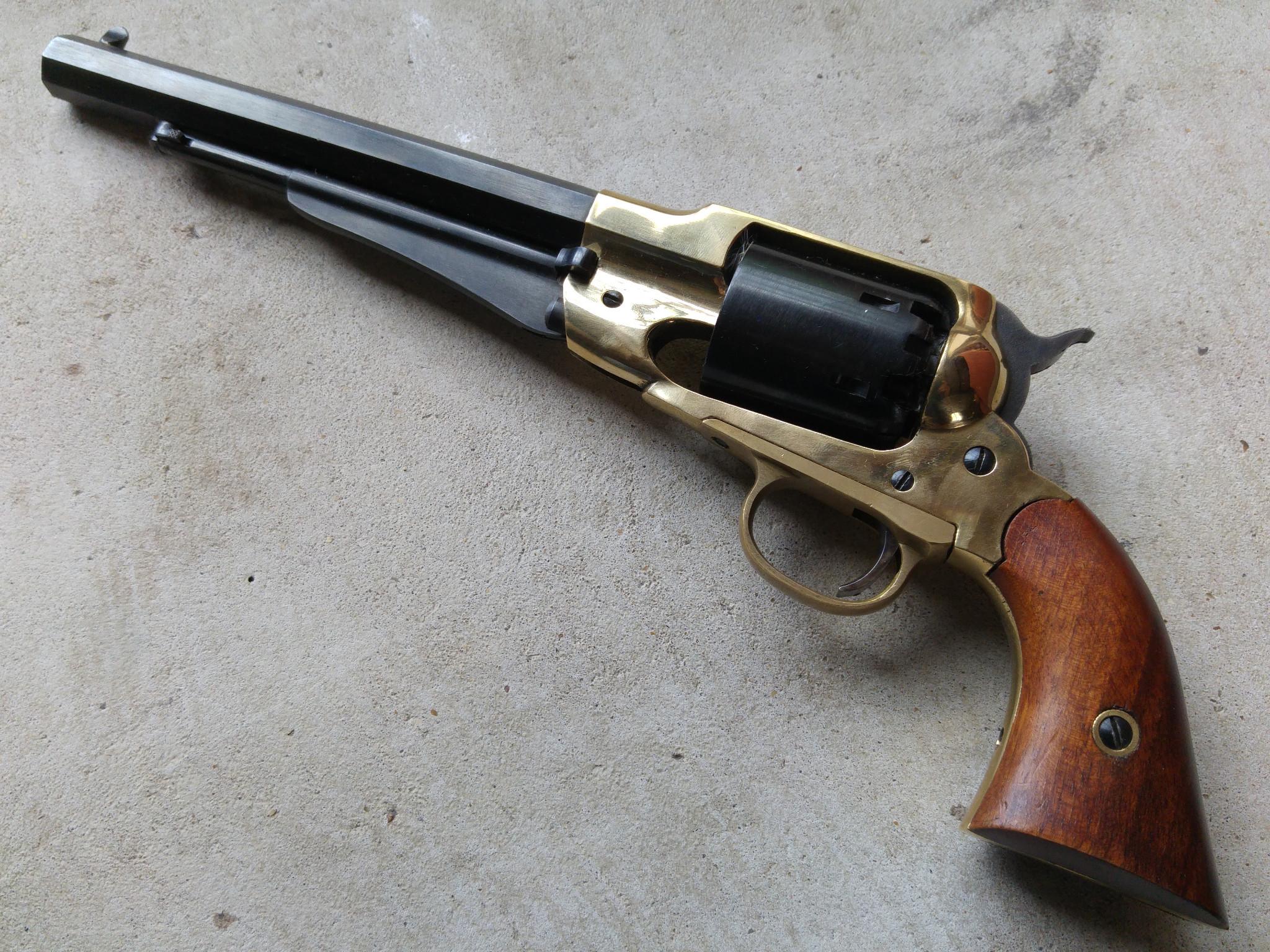 uberti remington 1858 inert